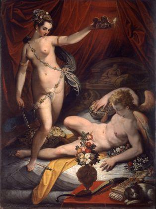Jacopo Zucchi, Amore e Psiche, 1589. Roma, Galleria Borghese