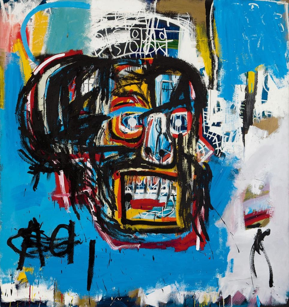 Jean Michel Basquiat, Untitled, 1982. Courtesy Sotheby's