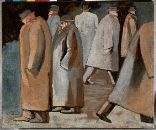 Jose Clemente Orozco, El invierno, 1932, Oleo sobre tela, Museo de Arte Carrillo Gil