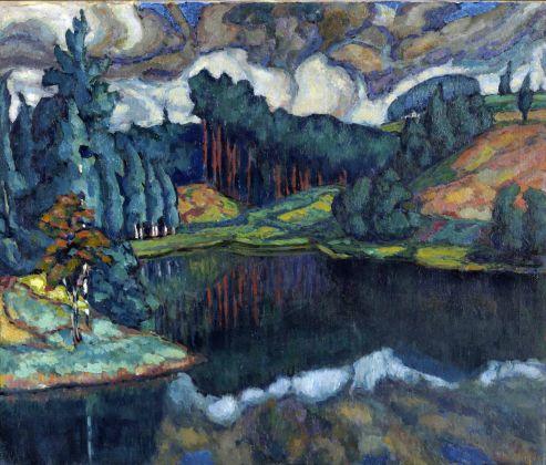 Konrad Mägi, Lago di Kasaritsa. 1916-17. Museo nazionale d'arte estone, Tallinn