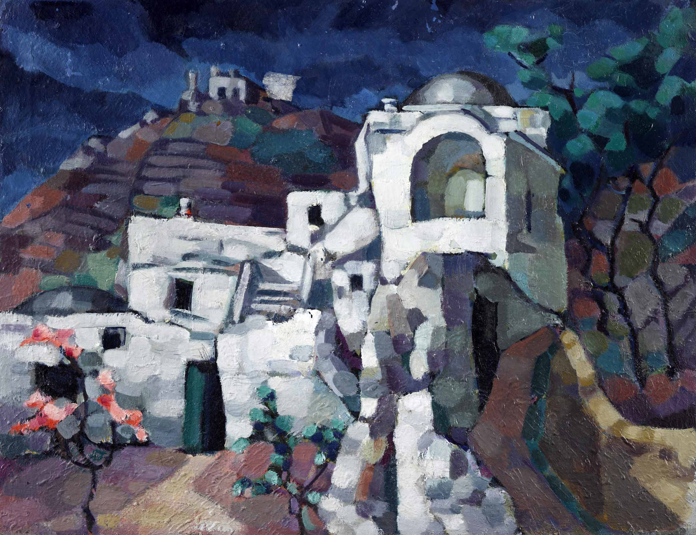 Konrad Mägi, Rovine a Capri. 1922-23. Museo nazionale d'arte estone, Tallinn