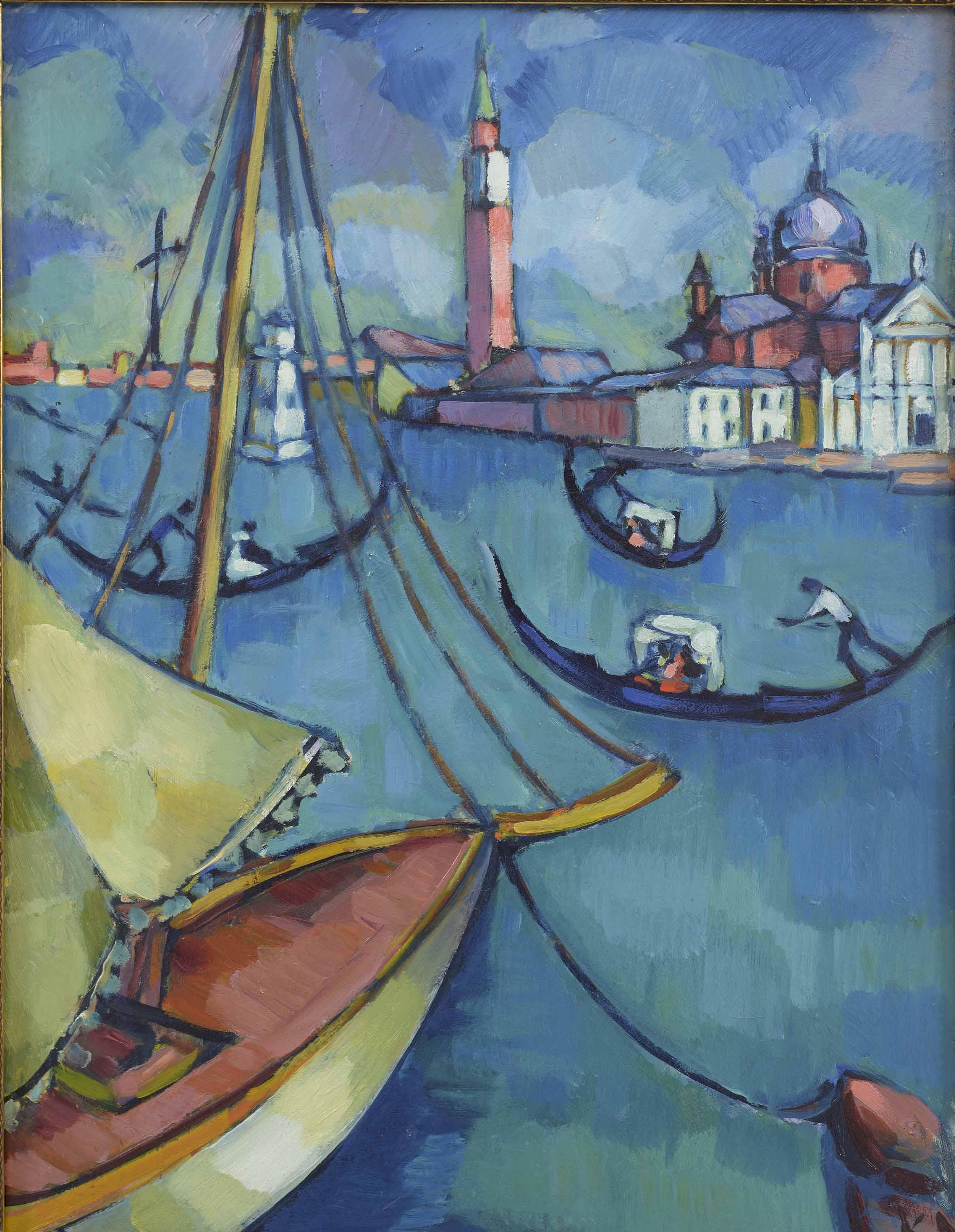 Konrad Mägi, Venezia. 1922-23. Collezione privata