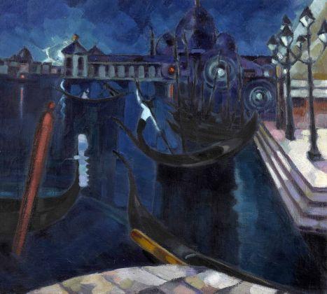 Konrad Mägi, Venezia. 1922-23. Museo nazionale d'arte estone, Tallinn