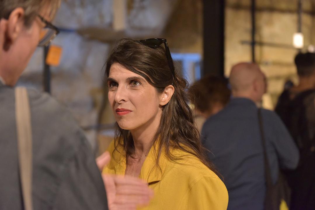 La co curatrice di Camposud Maria Paola Zedda. Foto di Dietrich Steinmetz