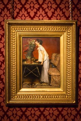 Lawrence Alma-Tadema, At Home in Antiquity. Courtesy Leighton House Museum e Kevin Moran Photography
