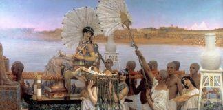 Lawrence Alma-Tadema, Il ritrovamento di Mosé, 1904. Collezione privata. Courtesy Leighton House Museum, Londra