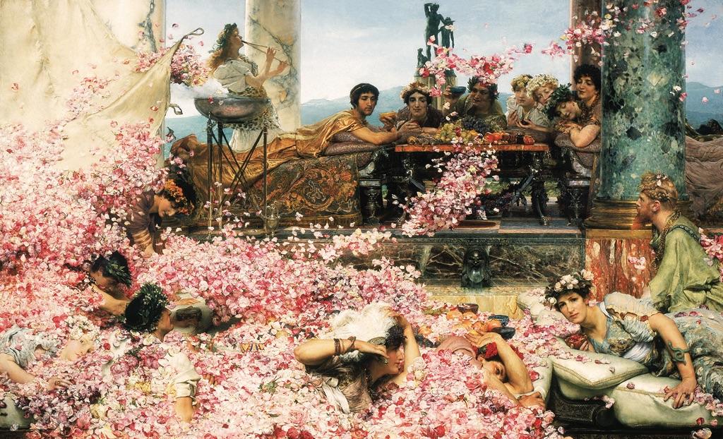 Lawrence Alma-Tadema, Le rose di Eliogabalo, 1888. Perez Simon Collection. Courtesy Leighton House Museum, Londra