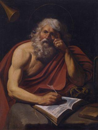 Leonello Spada (attr.), San Gerolamo, XVII sec.. Domodossola, Collezione Poscio
