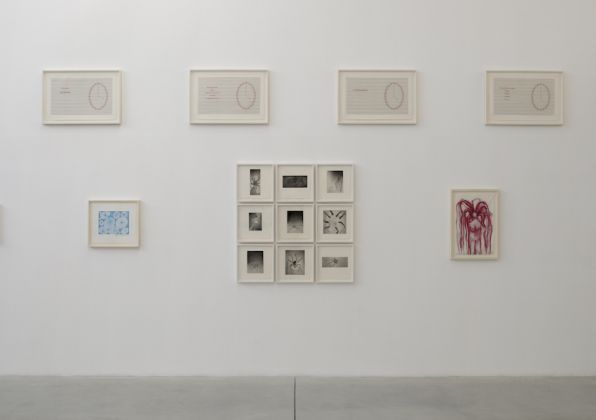 Louise Bourgeois. Pink Days _ Blue Days. Exhibition view at Gordon Gallery, Tel Aviv 2017. Photo Elad Sarig