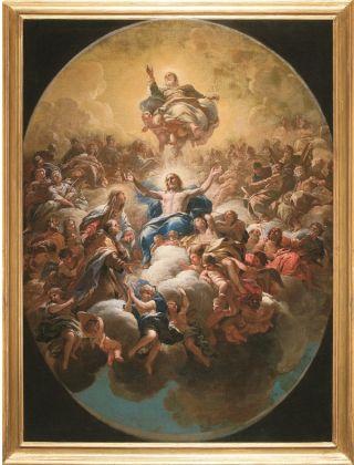 Luca Giordano, Gloria di Sant'Andrea Corsini, 1682, bozzetto