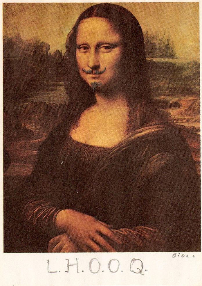 Marcel Duchamp LHOOQ 1919
