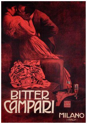 Marcello Dudovich, Bitter Campari, 1900