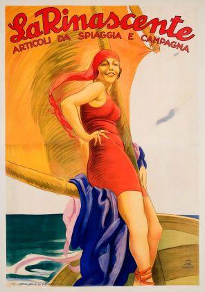 Marcello Dudovich, La Rinascente, 1925. Galleria L'Image, Alassio