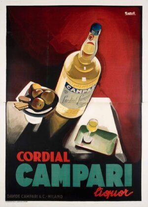 Marcello Nizzoli, Cordial Campari. Galleria L'Image, Alassio