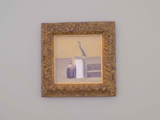 Veduta della mostra Giorgio Morandi/ Edmund de Waal, Artipelag