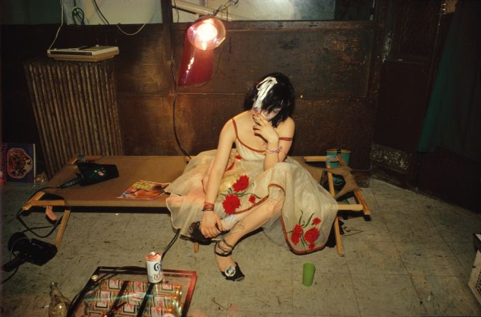 Nan Goldin, Trixie on the cot, New York City, 1979 © Nan Goldin