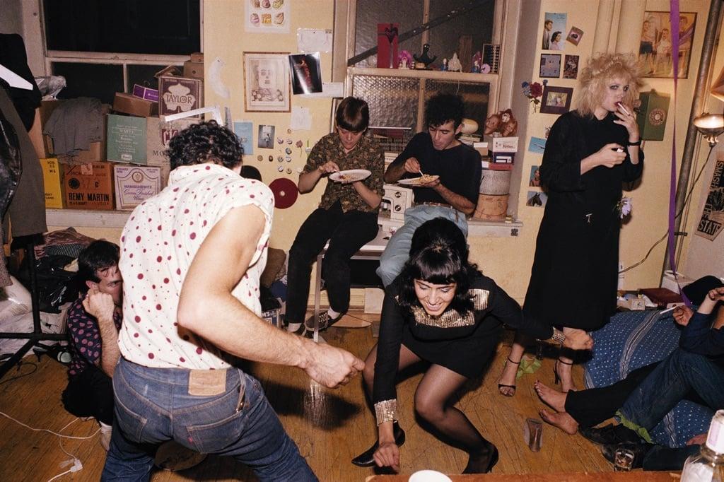 Nan Goldin, Twisting at my birthday party, New York City, 1980 © Nan Goldin