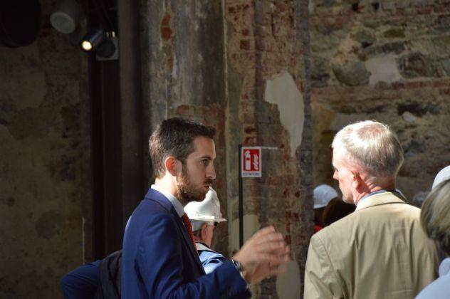 Nicola Ricciardi, direttore artistico di OGR Torino (c) Artribune