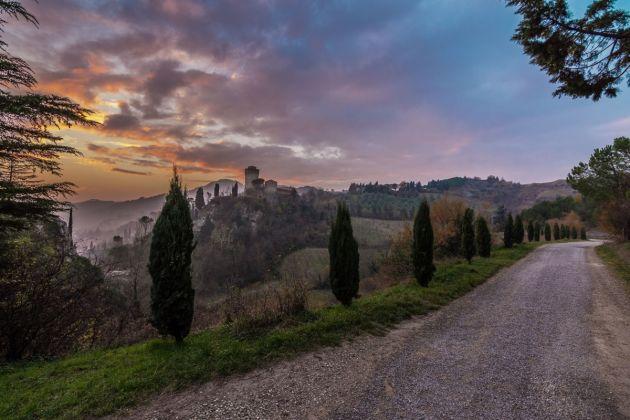 Panorama della Rocca, Rocca Malatestiana