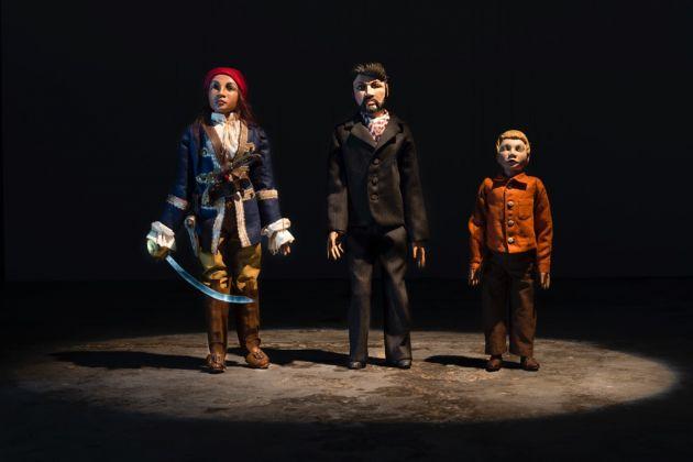 Peter Friedl, The Dramatist (Anne, Koba, Blind Boy)