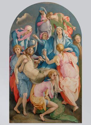 Pontormo, Deposizione, 1525-28. Firenze, Chiesa di Santa Felicita