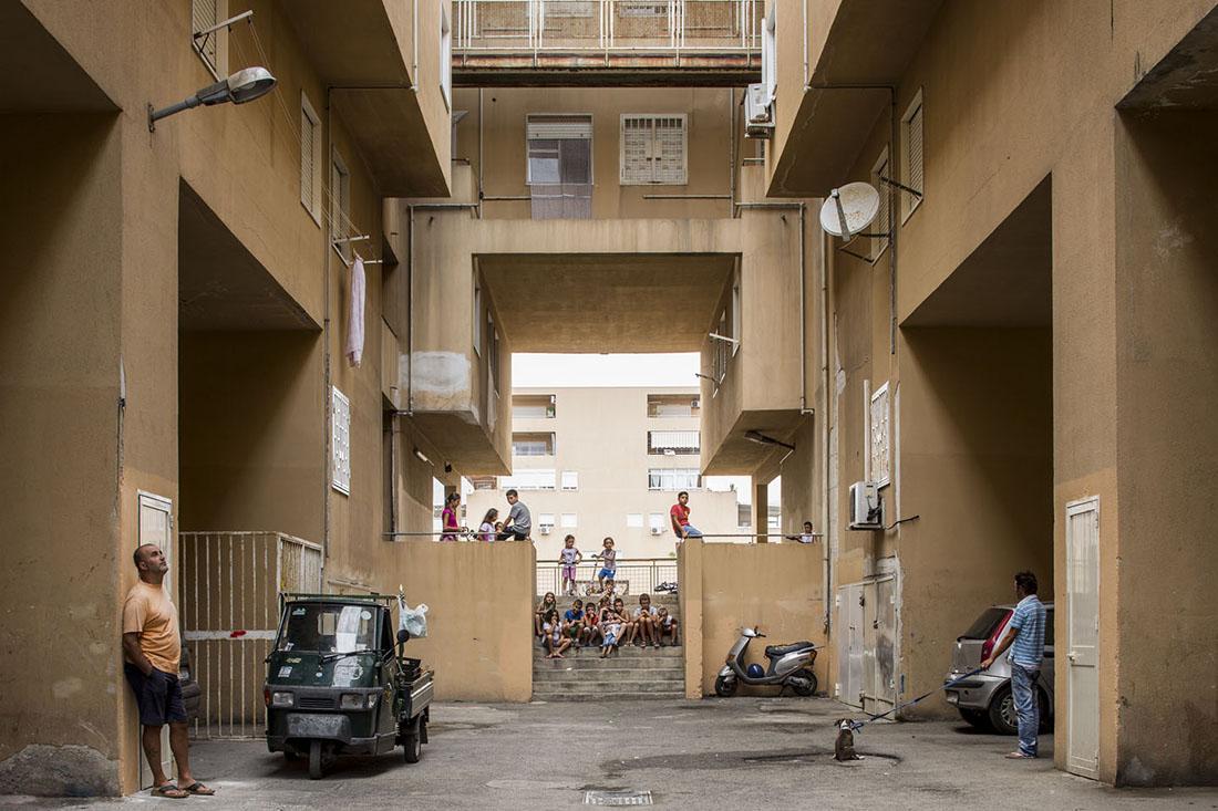 Quartiere ZEN, Palermo, 4 settembre 2013, ore 16,54. Photo © Fabio Mantovani