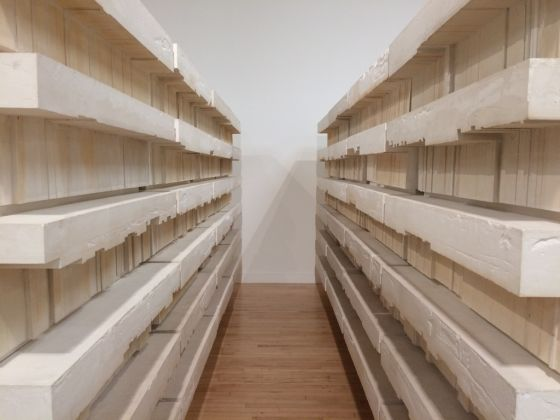 Rachel Whiteread, Untitled (Book Corridors), 1997-98