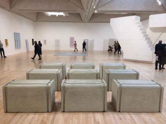 Rachel Whiteread. Exhibition view at Tate Britain, Londra 2017