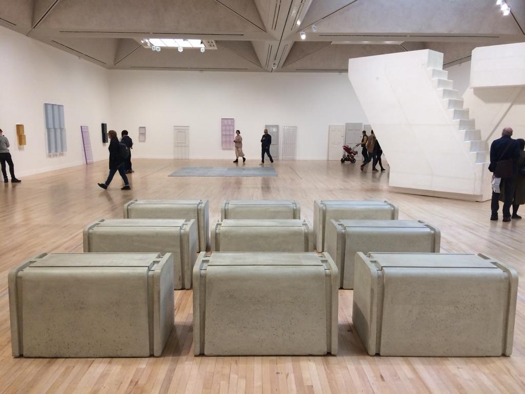 Rachel Whiteread. Exhibition view at Tate Britain, Londra 2017