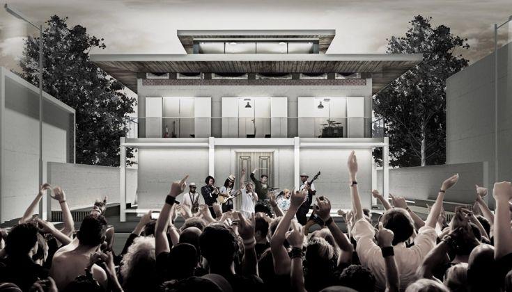 Recupero e riuso villa confiscata come casa della musica in onore di Miriam Makeba, Castel Volturno. Master NIB ArchitetturaAmbiente. Maria Grazia Nisi