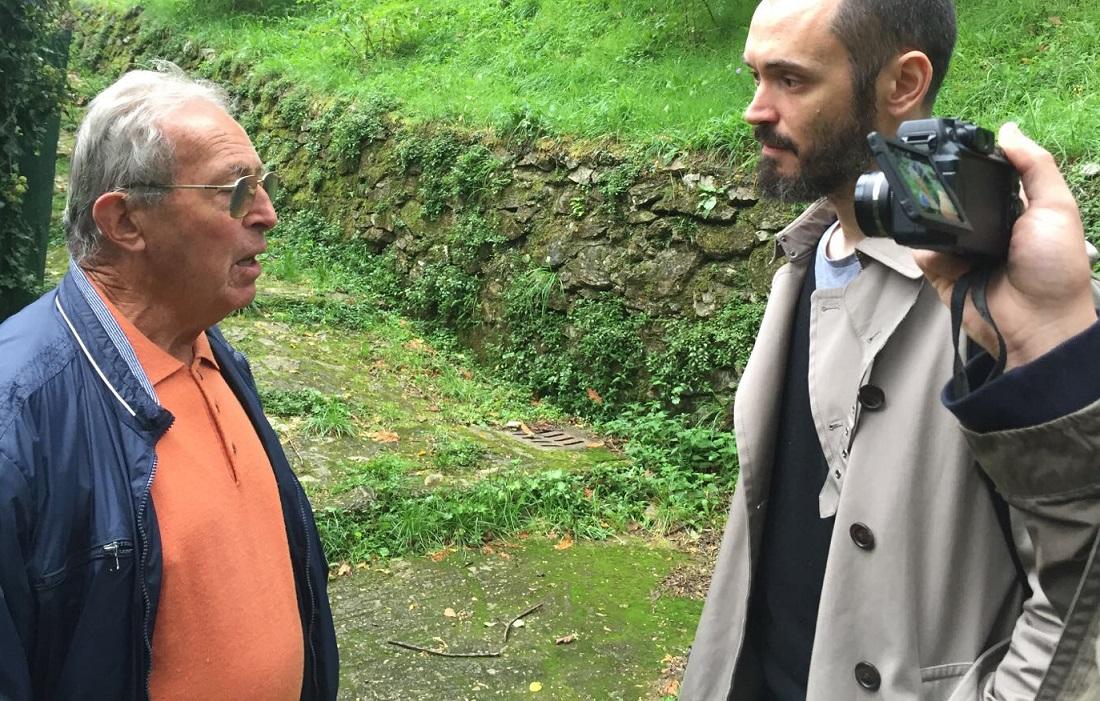 S.Anna di Stazzema, Gianni Moretti intervista con Enrico Pieri, superstite della strage