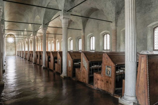 Sala del Nuti, Biblioteca Malatestiana, Cesena, Ph. Boschettim65 Licensing CC BY SA 4.0