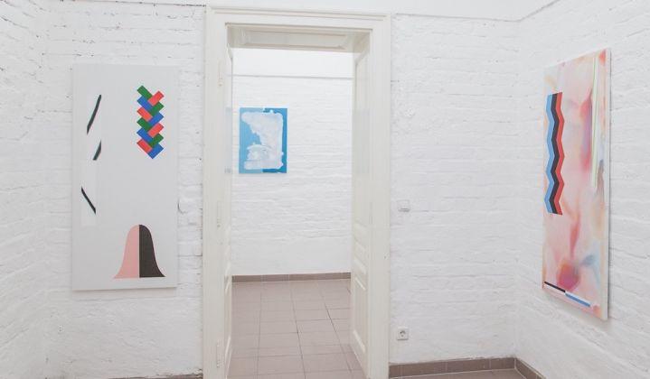 Samuel Richardot. Zweitaktgemisch. Exhibition view at Vin Vin Gallery, Vienna. Photo Flavio Palasciano