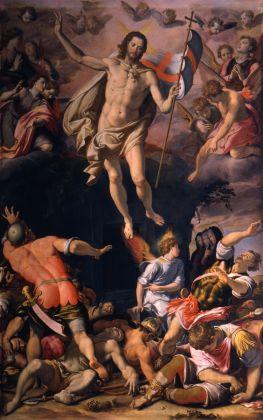 Santi di Tito, Resurrezione, 1574 ca. Firenze, Basilica di Santa Croce