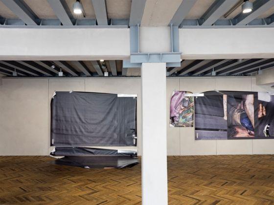 Satoshi Fujiwara. EU. Exhibition view at Fondazione Prada Osservatorio, Milano 2017. Photo Giulio Ghirardi. Courtesy Fondazione Prada