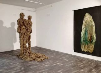 Showcase Sarah Jérôme. Exhibition view at Fondazione Museo Pino Pascali, Polignano a Mare 2017