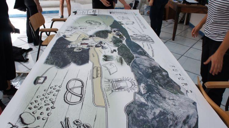 Spazi attivi con Carlo De Luca, Una mappa su due piedi, A Cielo Aperto 2017