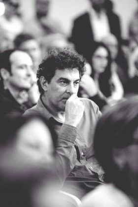 Stefano Cristante al congresso Slow Food