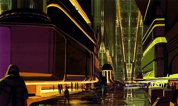 Syd Mead, Concept art per 'Blade Runner'
