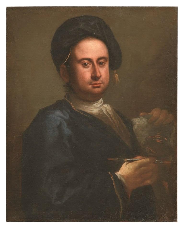 Taddeo Mazzi, Autoritratto, 1712