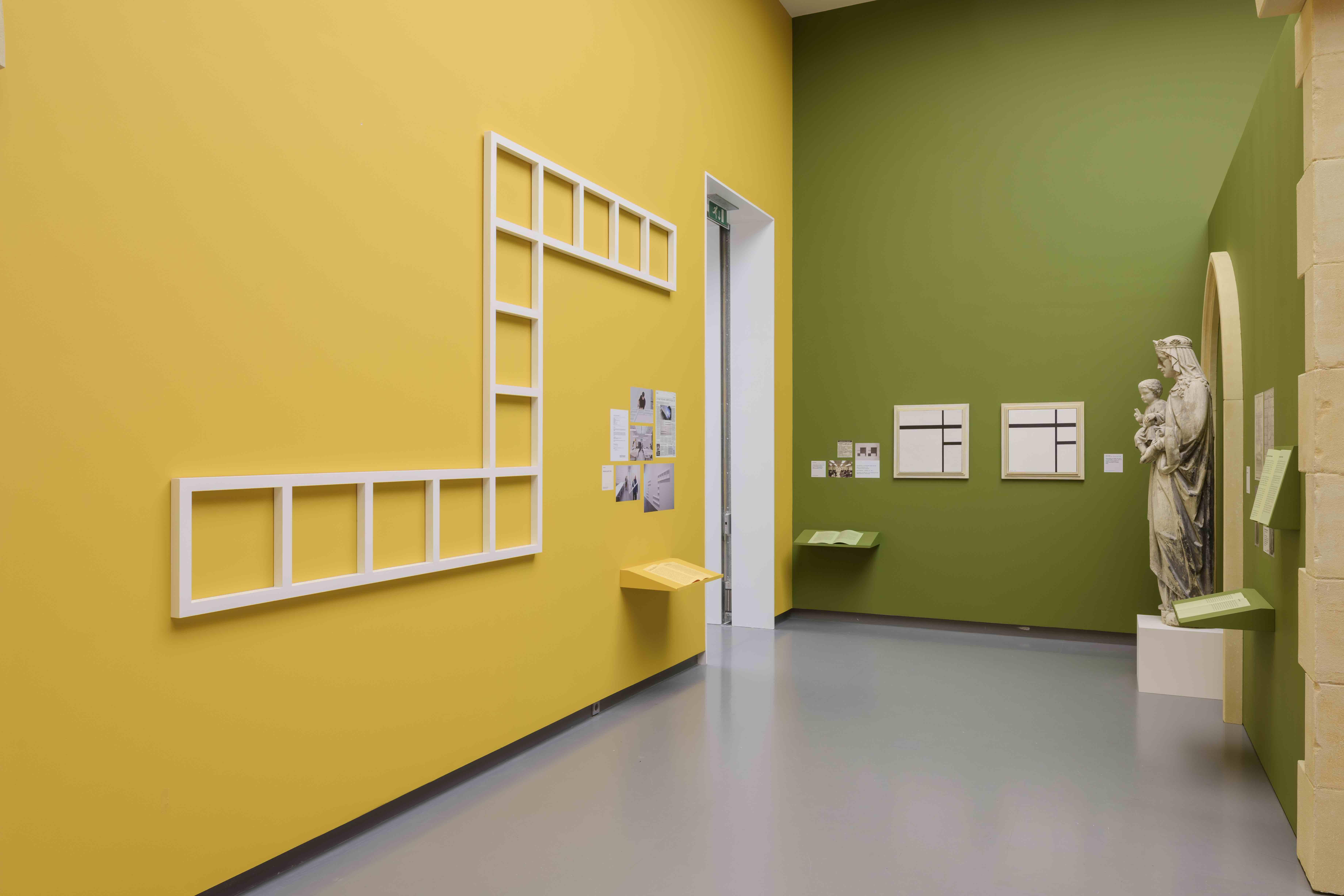 Installation view The Making of Modern Art. Photo Peter Cox. Van Abbemuseum 2017