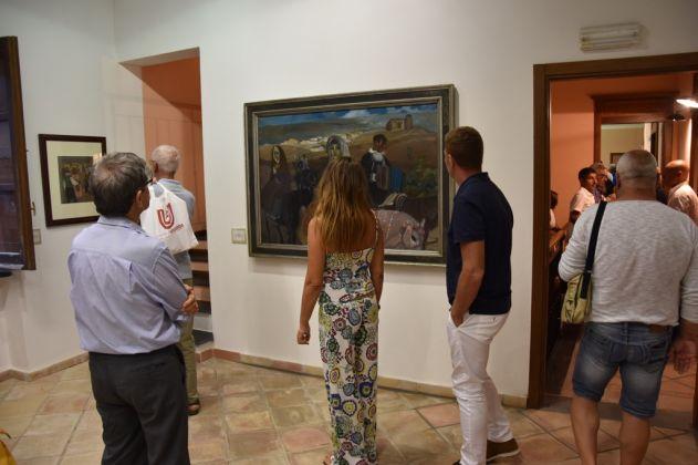 Tutta d'oro e di rosa. Exhibition view at Palazzo Baronale, Teulada 2017. Photo Paolo Austeri Ottaviani