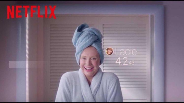 Una pubblicità di Netflix
