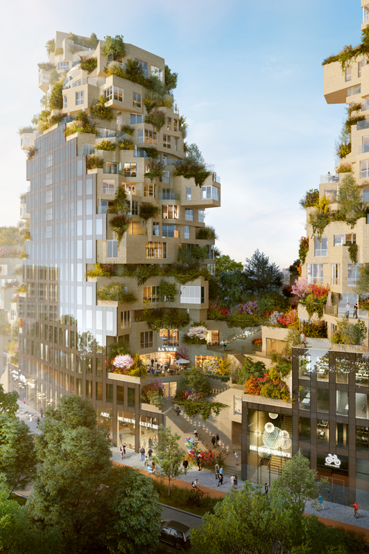 Valley Project by MDVRD. Image © MVRDV