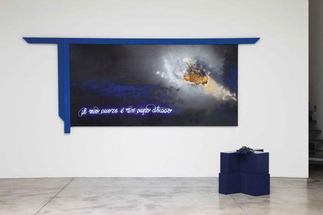 Vettor Pisani, Il mio cuore è un cupo abisso, 2004. Cardi Gallery, Milano 2017. Photo Bruno Bani. Courtesy Fondazione Morra, Napoli e Cardi Gallery, Milano Londra