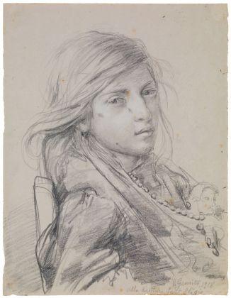 Vincenzo Gemito, La nipote, 1918. Domodossola, Collezione Poscio