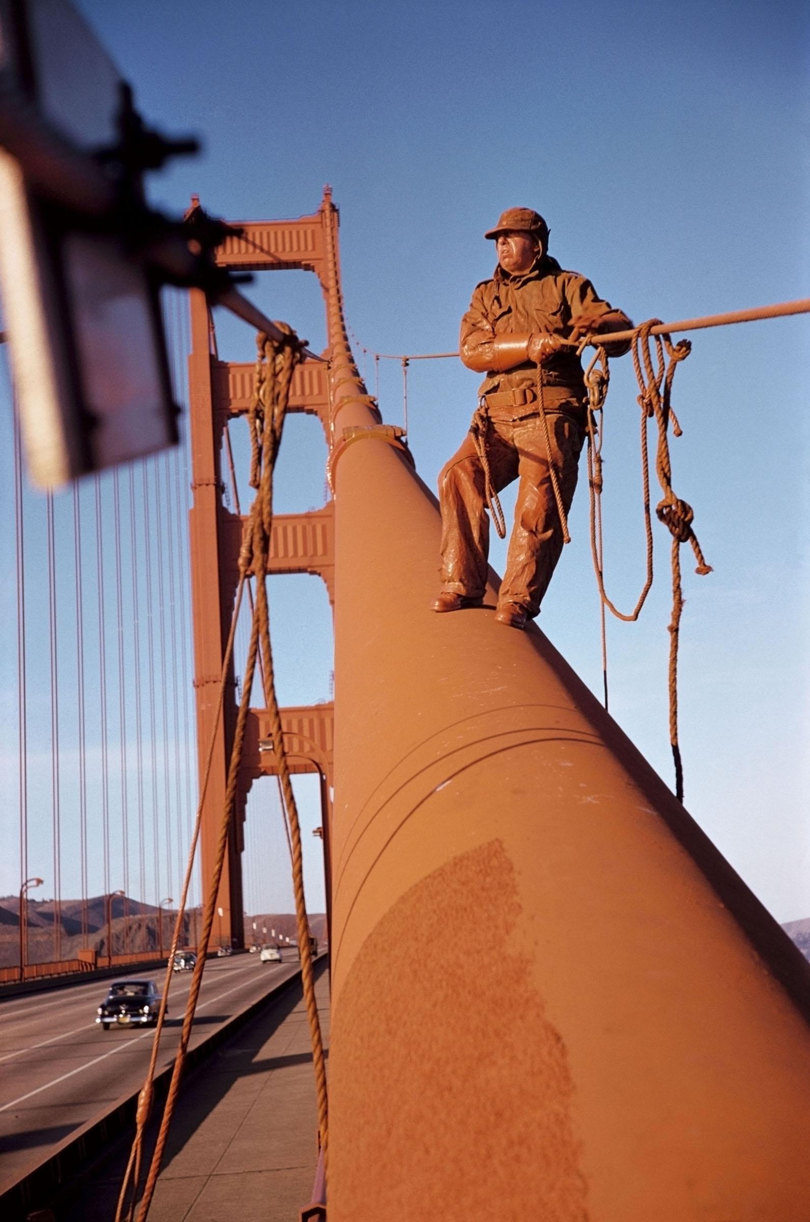 Werner Bischof, Golden Gate Bridge, San Francisco, USA, 1953 © Werner Bischof/Magnum Photos