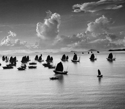 Werner Bischof, Harbour of Kowloon, Hong Kong, 1952 © Werner Bischof/Magnum Photos