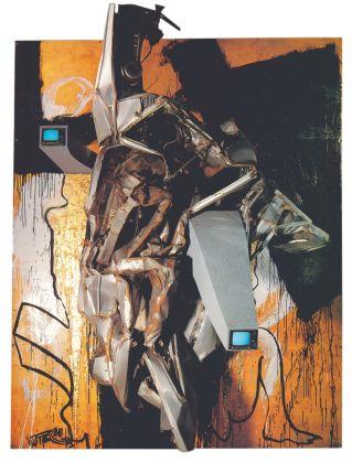 Wolf Vostell, Trashumancia IV, 1988