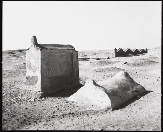 Wolfgang Laib, Tombe a Meidum, Egitto, 1991. Collezione privata © 2017, ProLitteris, Zürich